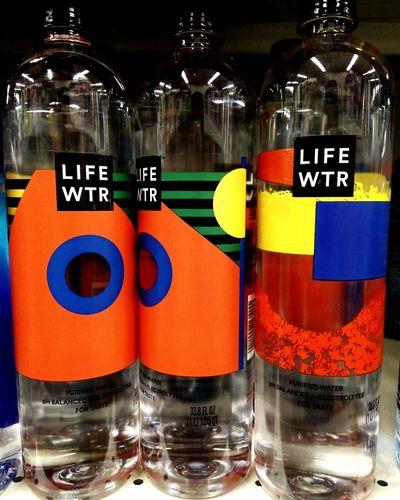 Bottle Multi Colored Liquid Indoors  Close-up Life Water