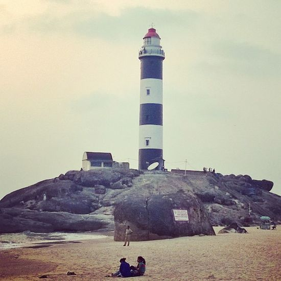 Be a light house & provide light and guide the people who are in darkness to a better place. Kaup Lighthouse Beach Udupi Manipal India