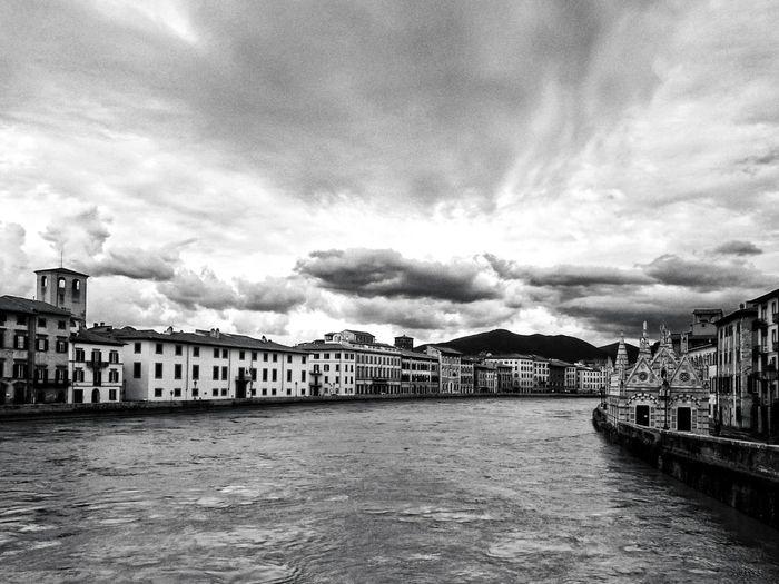 The river. Tuscany Pisa Bianco E Nero Blackandwhite Photography Sony Xperia Z1 River