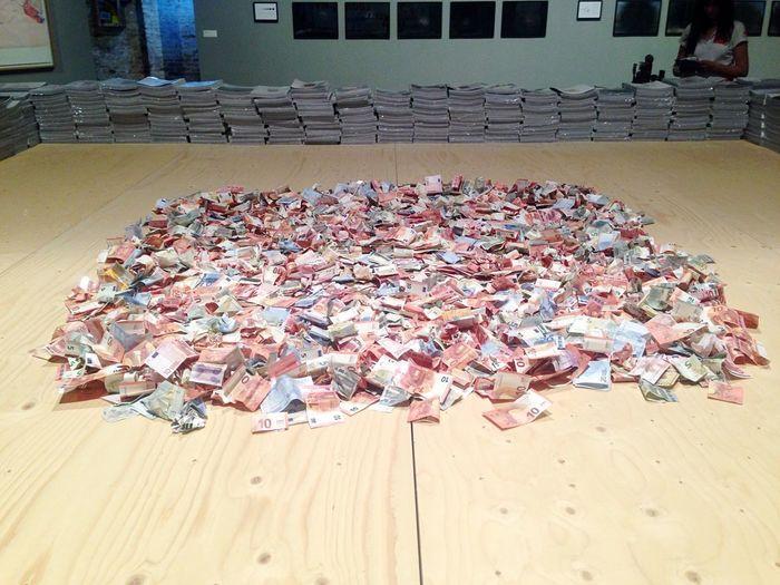 Euro Euro Soldi Denaro Biennale2015