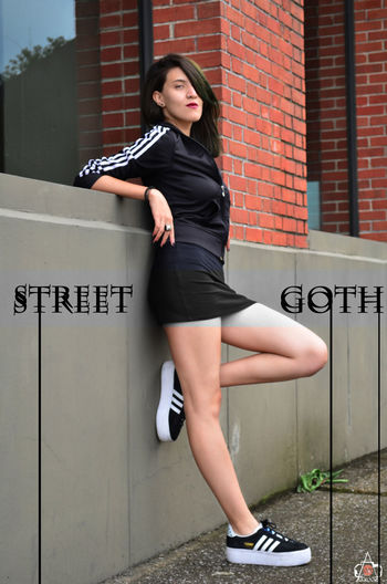 Adidas AgenciaDeModelos Black Casual Clothing Fashion Full Length Hairstyle Mexico City Portrait Promodel Street