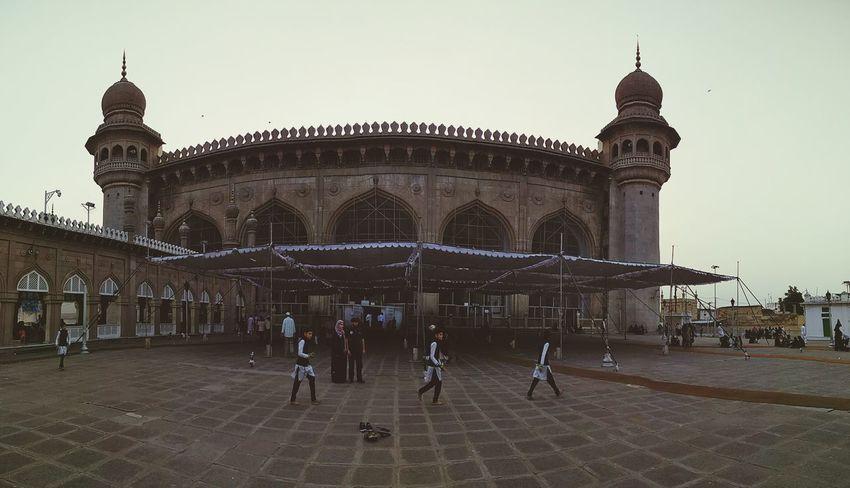 Travel Destinations Hyderabad,India Mekkah Masjid Charminar Clone Photography Panorama