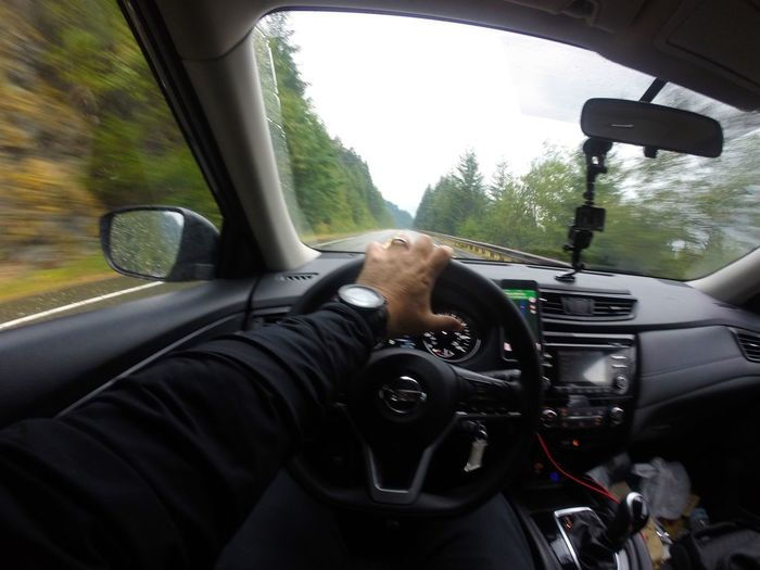 Real People One Person Vehicle Interior Men Human Hand Human Body Part Steering Wheel Car Interior Car Windshield Transportation Dashboard Day Leisure Activity Windscreen Land Vehicle Lifestyles One Man Only Close-up Nature EyeEm Vision Speed Car Driving