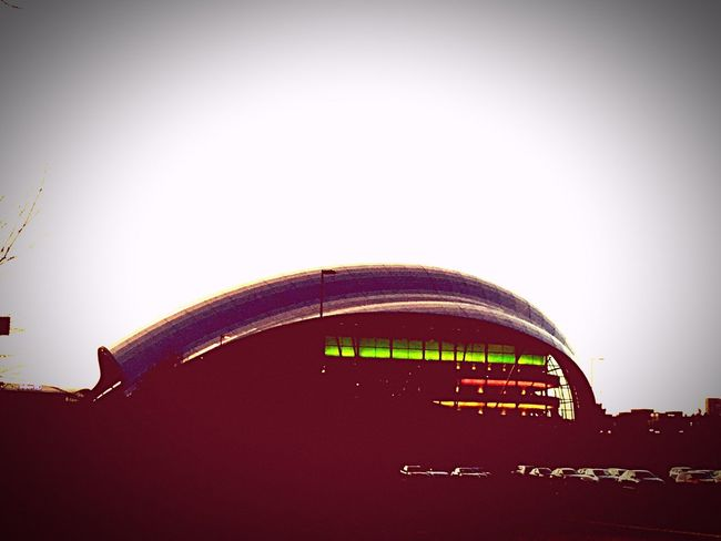 The Sage Gateshead Architecture Architectureporn SpaceShip Alien Invasion Alien Encounters Red Sky Music Is Life Concert Hall  Newcastlegateshead Music Education Sunset Sunset Silhouettes Clouds And Sky Tranquility Travelling Home