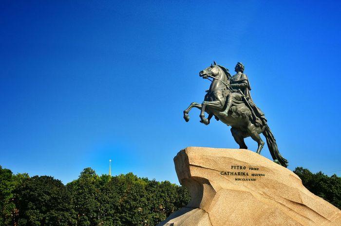 Saint-Petersburg Russia Bronze Horseman Nikon D300s XperiaZL Sony