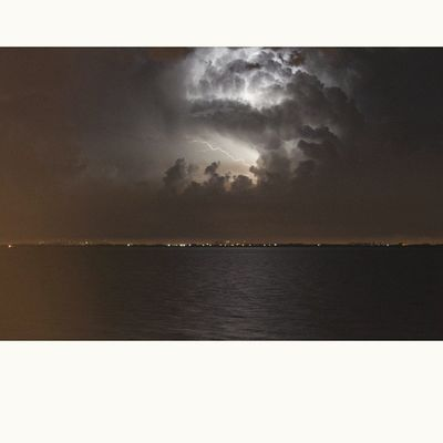 comingbackafewmonthsago Storm Skys Clouds Colonia uruguay oceanview landscape instatravel rain photography instaphoto night awesome lightning thunder