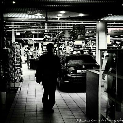 Jastrzębie - Zdrój Shopping B&w Photography Tadaa Community Reflected Glory The Moment - 2015 EyeEm Awards The Moment