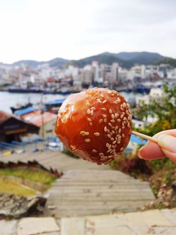 Seaside In A Sea Town Tongyoung Tongyoung,korea Korean Food Small City Countryside Korea South Korea