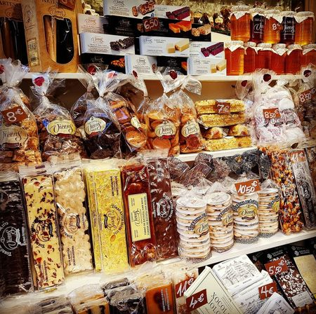 Typical delicatessens of Catalonia. Full Frame Backgrounds Barcelona Larambla Travel Destinations Best EyeEm Shot Bestoftheday Streetphotography EyeEm Best Shots Foodie Foodgasm Foodpics Dessert... Mmmmm Yum Yum  Delicatessen Indoors  No People Close-up Day Delicatesse