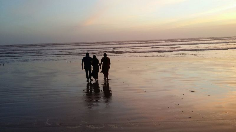 into the sunset!! family outing What I Value