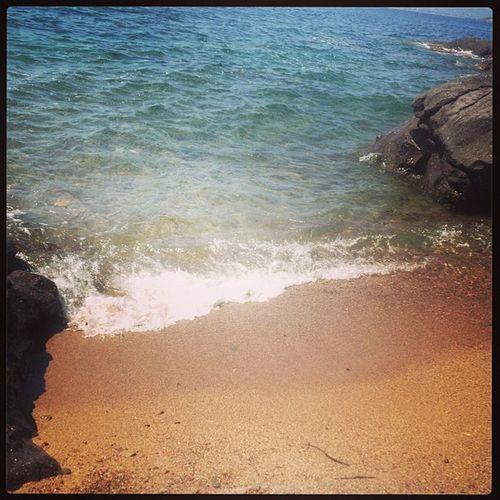 Après la plage privé, la plage perso Aiguebonne Saintraph