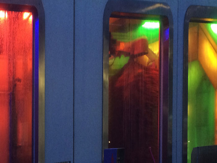 Carwashing Illuminated Multi Colored No People Red The Color Of Business The Week On Eyem Overnight Success