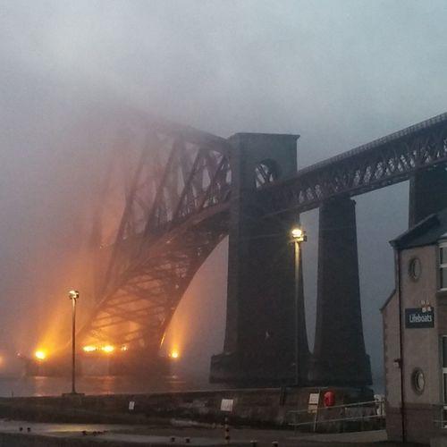 ForthRailBridge Scotch Mist 8thwonderoftheworld