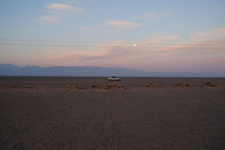 seeing the moon from the moon Desert Moon Moon Landscape Beach Beauty In Nature Cloud - Sky Horizon Horizon Over Water Land Mode Of Transportation Nature No People Non-urban Scene Outdoors Scenics - Nature Sea Sky Sunset Tranquil Scene Tranquility Transportation Water