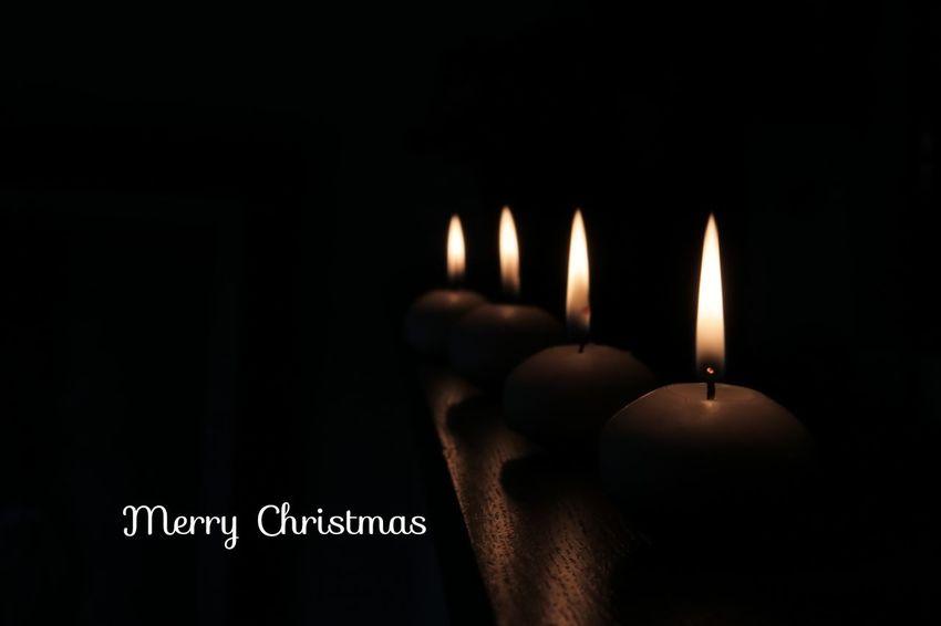 MerryChristmas Candle Candlelight EyeEm Best Shots EyeEm Gallery EyeEmBestPics 暗がりクラブ Eyeem4photography Black Background Flame Heat - Temperature Burning Studio Shot Candle Close-up Candlelight Firework Display