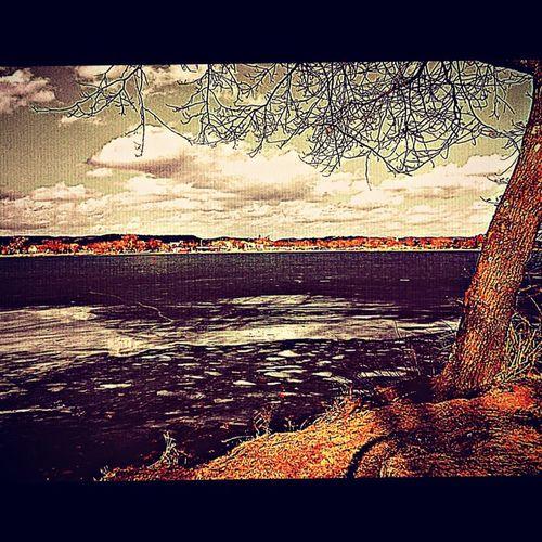 Lake Winona as Spring Arrives Lake Winona Winona, MN. Minnesota Bikepath March The Driftless Region Dawn Of Spring