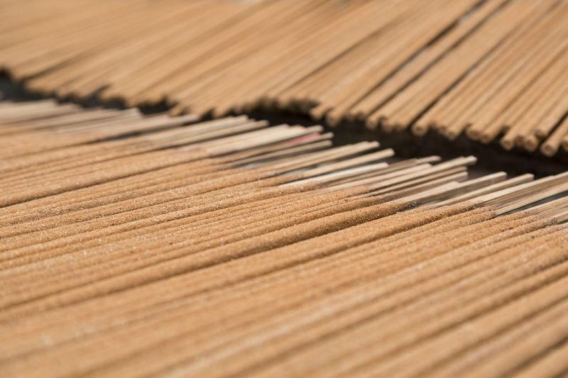 Full Frame Shot Of Sticks