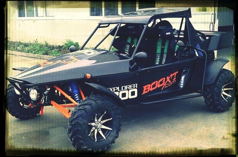 Motocross Car