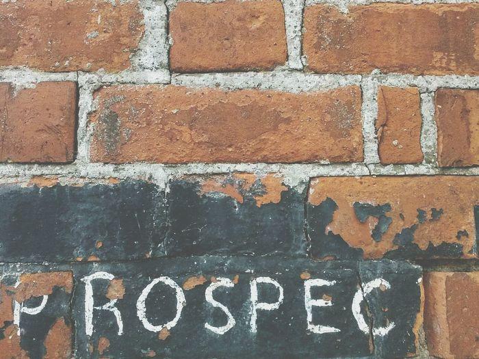 Lost prospects Wall Word Prospect Rundown Ruins