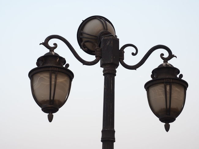 vintage streetlight Clear Sky Day Light Lighting Equipment Low Angle View No People Old Town Outdoors Sky Streelight Street Streetlighting Vintage Photo Vintage Shopping