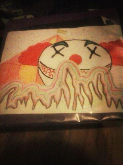 Clown My Drawing Epic Fail Ayyyyyy Swag
