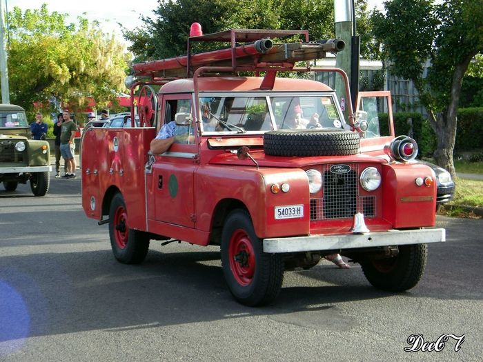 Land Rover Parade 2018 - 70 humble years. Our town had the honor of hosting the parade for Land Rover - 70 years. I didn't get to see the parade itself but we got a good look at the first series because they were parked right outside my front door. Tree Land Rover Parade Red Transportation Transport Old Old Vehicle History History Through The Lens  Streetphotography