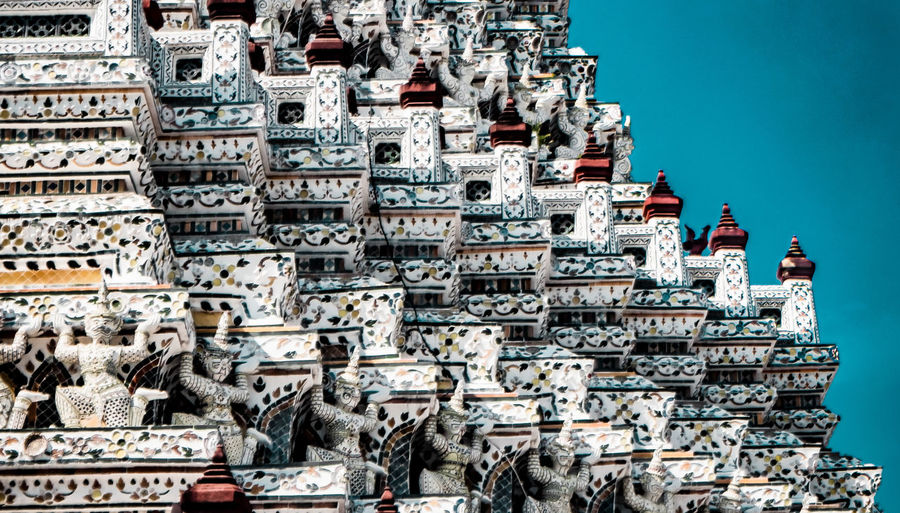 Patterns of thai temple