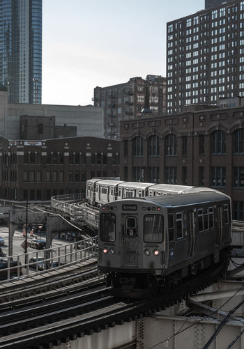 Architecture Building Chicago City Metro Outdoors The Loop Urban Mobility In Mega Cities