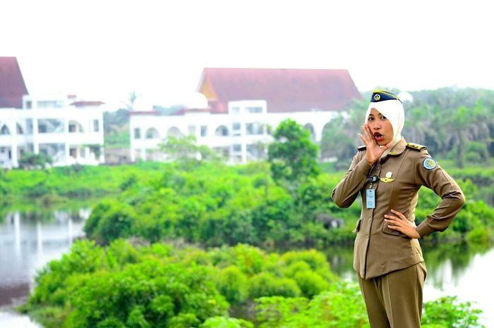 School Uniform Ipdn Riau Hunting