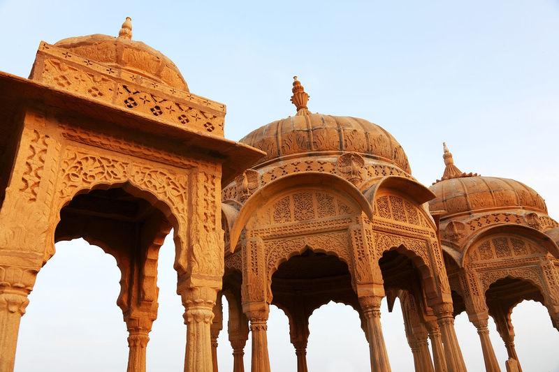 Exterior Of Jaisalmer Fort At Rajasthan