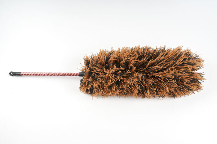 FEATHER DUSTER ISOLATED ON WHITE Cleaning Housekeeping Dirty Dusters Dusty Dusty Road Feather  Upkeep White Background