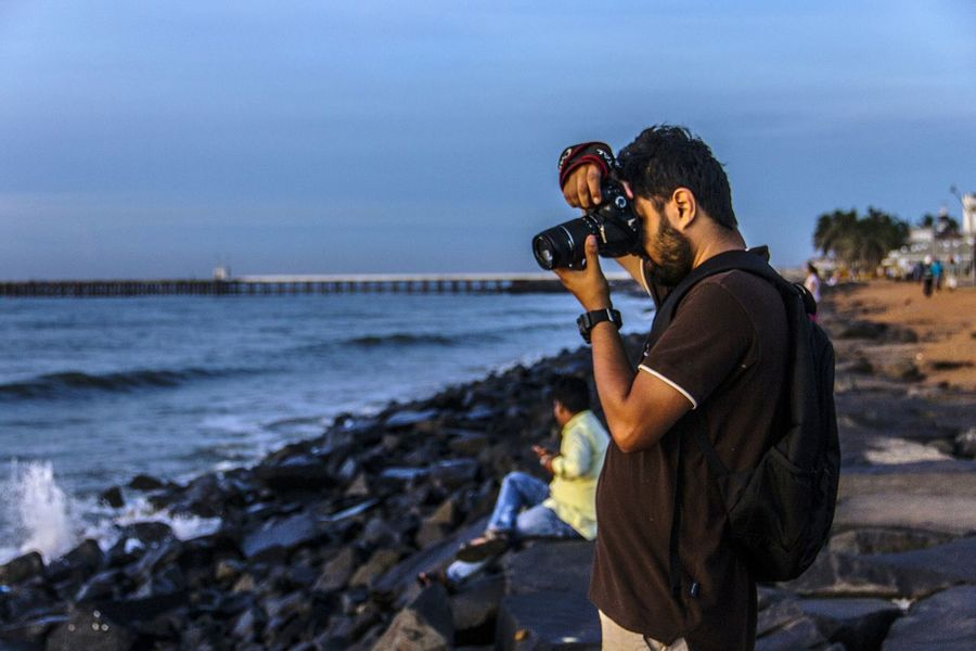 Photographers paradise, Starting A Trip Travel EyeEmBestPics Portraitist -2016 Canon 600d Eos In Pondicherry Incredible India Eyeemmarket
