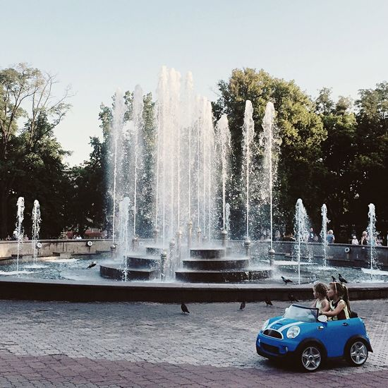 Water Car Fountain Clear Sky Day Driving Sweet Motion Nature Architecture Ukraine Central Park Mariupol Tree Water_collection Splashing Good Day Sky Two Girls Friendship Friends Little Princess The Street Photographer - 2017 EyeEm Awards Mix Yourself A Good Time