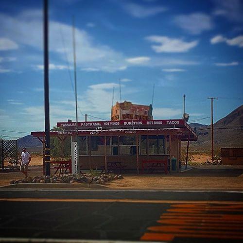 Yermo , California . The dead star of the California desert. Where you can still get a milkshake Californiadreaming ?
