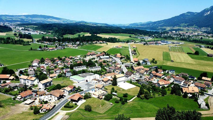 Gruyeres Swiss Alps