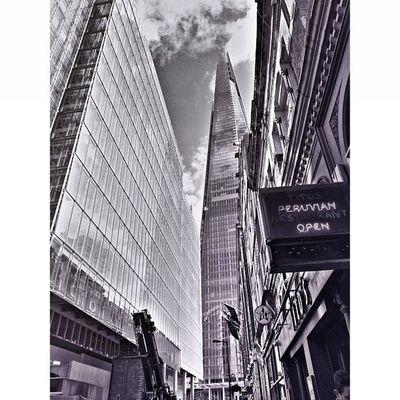 Dark City: The Shard in B&W Pictapgo IPSContest Love Tweegram instagood photooftheday iphonesia instamood igers instagramhub picoftheday instadaily bestoftheday igdaily instagramers webstagram follow statigram life