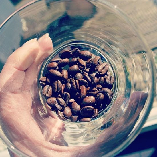 After all those years Drinking Senseo this is a Dream come true: Fresh coffeebeans goodmorning