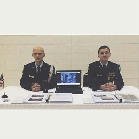 WaybackWednesday To me and the big bro looking professional at our Merica table. @doom_and_gloom96 Merica
