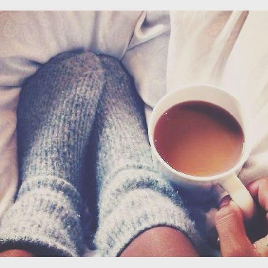 G O O D M O R N I N G ? Tea Socks Fake Tan Morning Vibe