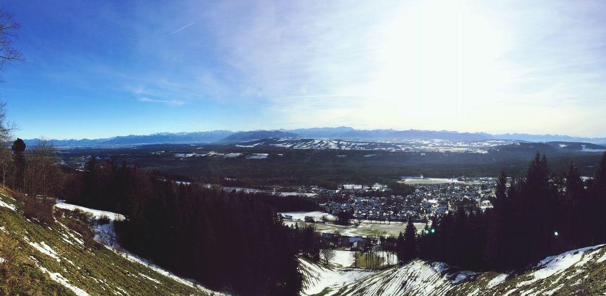 Alpenpanorama Wintertime Landscape Tadaa Community