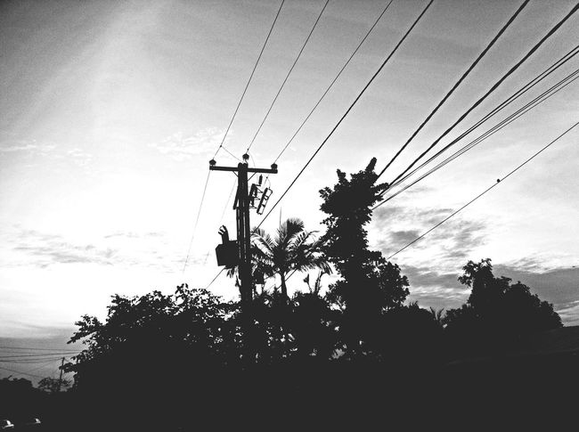 Iphonegraphy Blackandwhite n the morning/matin
