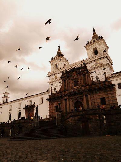 Bird Cloud - Sky Architecture History Travel Destinations AllYouNeedIsEcuador Spirituality Church Architecture Quito Ecuador