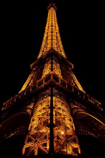 Triangle Shape Night Architecture Illuminated Travel Destinations Built Structure No People Outdoors Travel Photography Paris France Paris, France  Eiffel Tower Eiffel Tower By Night Capital Cities  Metal Industry Metal Structure Metal Art Light And Shadow Metal Construction Eiffeltower Paris Night Geometric Shape Geometry Perfection