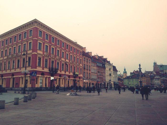 Stolica chu*owej pogody Warszawa