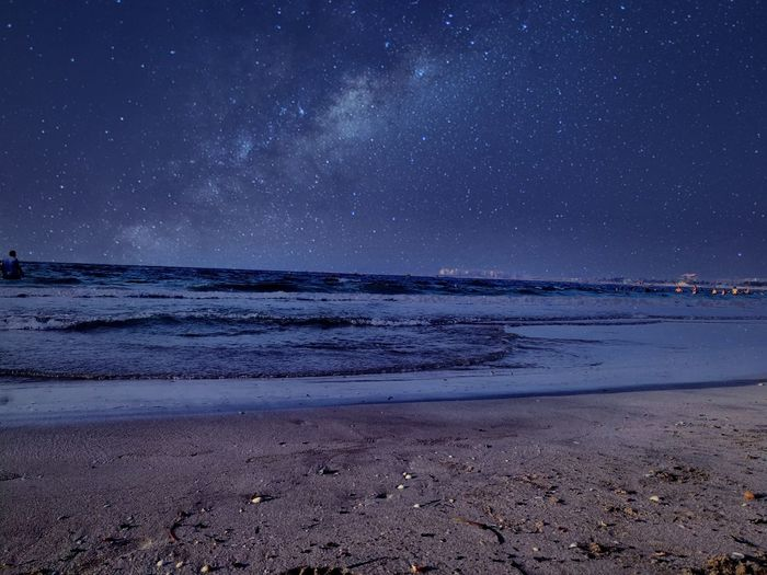 The beauty of the nature 💕📸 Nature Mobilephotography Sea Sky Photooftheday Beach Space Mix Edit Nature Photography Naturelovers Like4like Follow4follow Sell Sellphotos Wallpaper Amazing WOW Star - Space Astronomy Night Sea Long Exposure Constellation Milky Way Beauty In Nature Horizon Over Water Awe Sand Galaxy Be. Ready. EyeEmNewHere