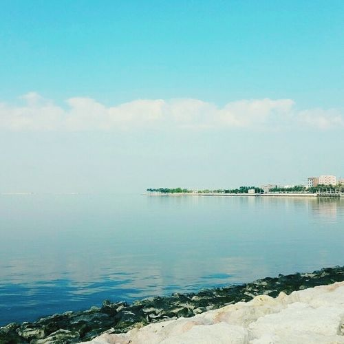Water Tranquil Scene Sea Scenics Tranquility Sky BeachCloud - Sky Day Cloud Non-urban Scene Nature morning Water Seascape Tourism Beauty In Nature Blue Shore Calm Tranquil Scene Sea Scenics Tranquility Sky Beach
