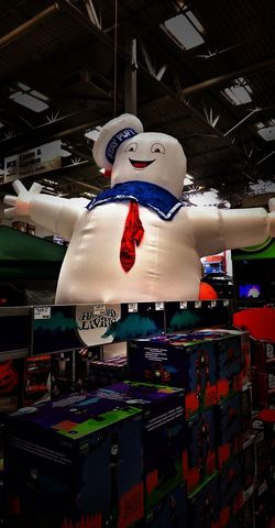 https://youtu.be/7aW8oyTgA60 The Impurist Stay Puft Marshmallow Man Halloween Decorations Who Ya Gonna Call ? Movie Picture