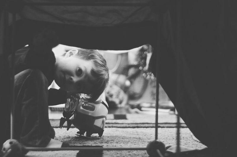 Peekaboo Children Photography Childhood Childhoodunplugged Preschooler Peekaboo Blackandwhite Photography Blackandwhite Nikon Nikonphotography Nikon D90 Family Time Boy Playing Minion  No Flash The Portraitist - 2016 EyeEm Awards