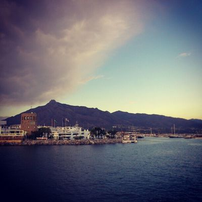 Cloudy Weather Puerto Banus puerto_banus marbella spain