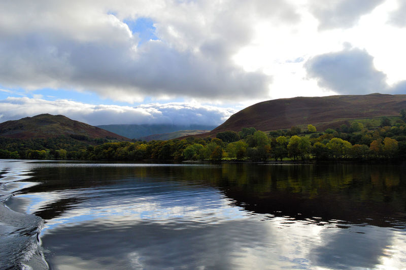 Beauty In Nature Calm Cloud Cloud - Sky Clouds And Sky Cumbria Day English Countryside Idyllic Lake Lake District Mountain Mountain Range Mountains And Sky Nature Non-urban Scene Outdoors Refelections Remote Scenics Sky Tranquil Scene Tranquility Ullswater Water